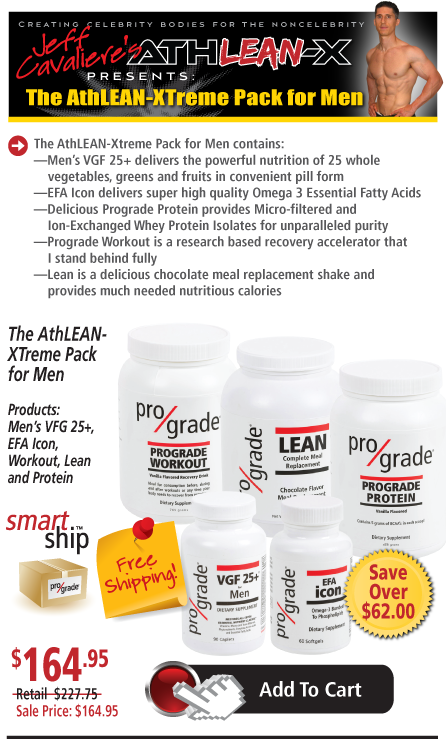 With the Prograde Athlean-X Smart Ship super-savings plan you will enjoy: